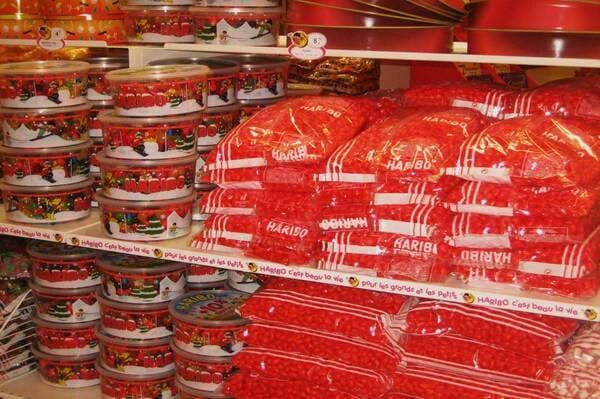 Haribo à Uzes magasin