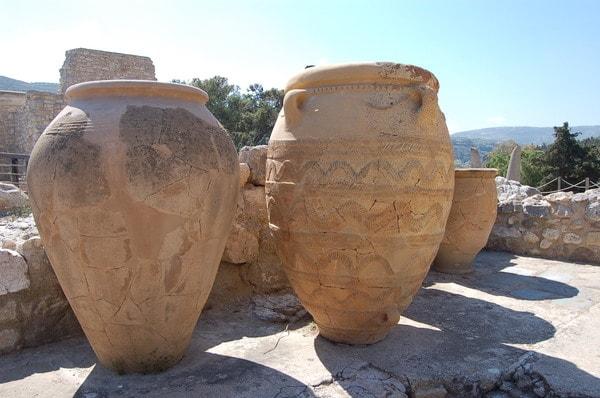 Amphores de Knossos