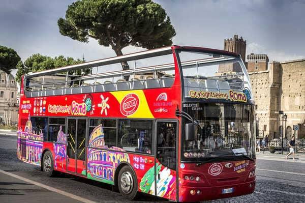 bus touristique rome et son pass