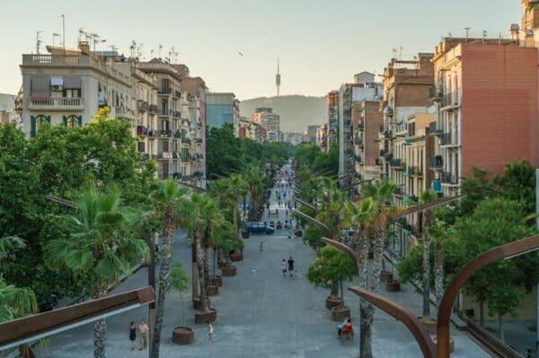 Les Sants de Barcelone