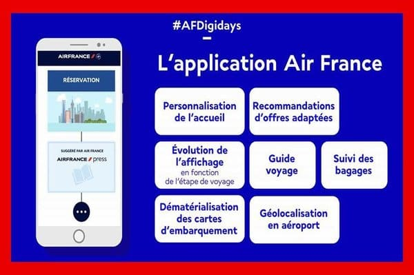 application smartphone air france