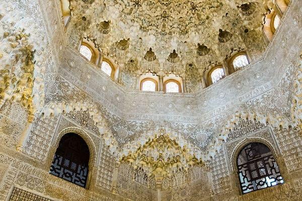 Plafond du palais des Nasrides