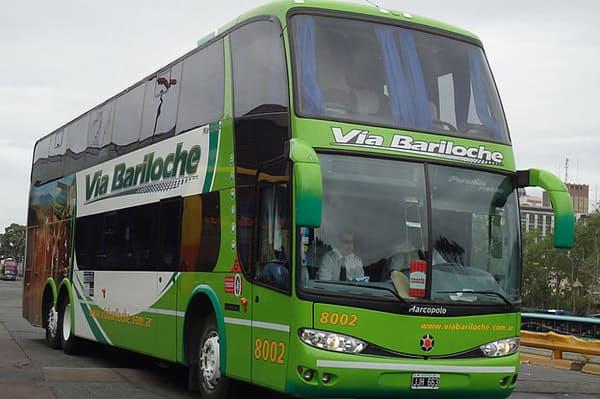 Bus via bariloche argentine