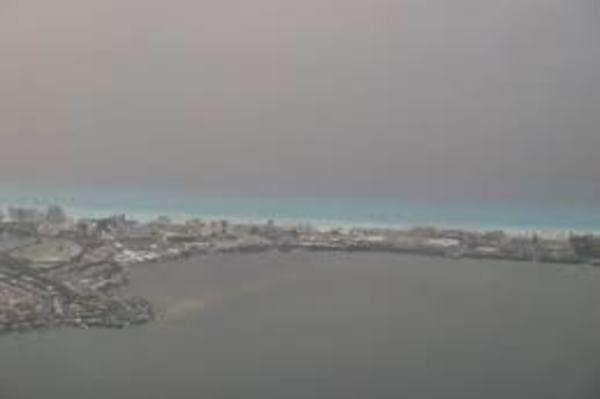 Nuages au dessus de Cancun