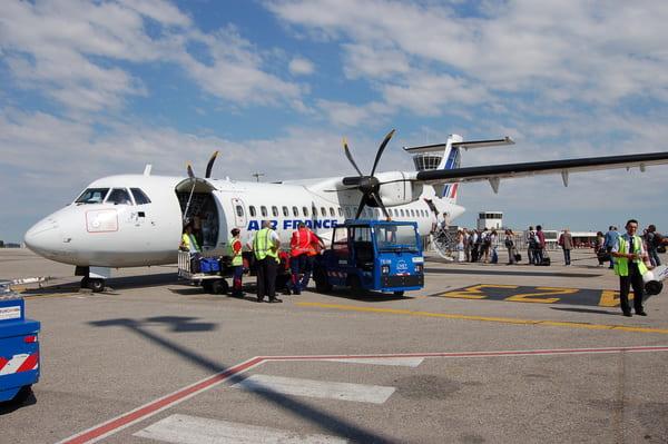 Avion ATR Air France