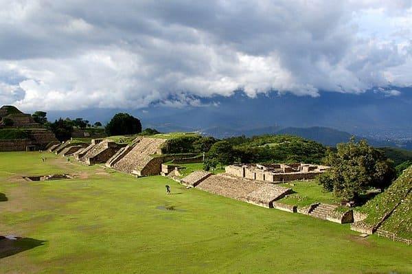 Monte Alban au Mexique