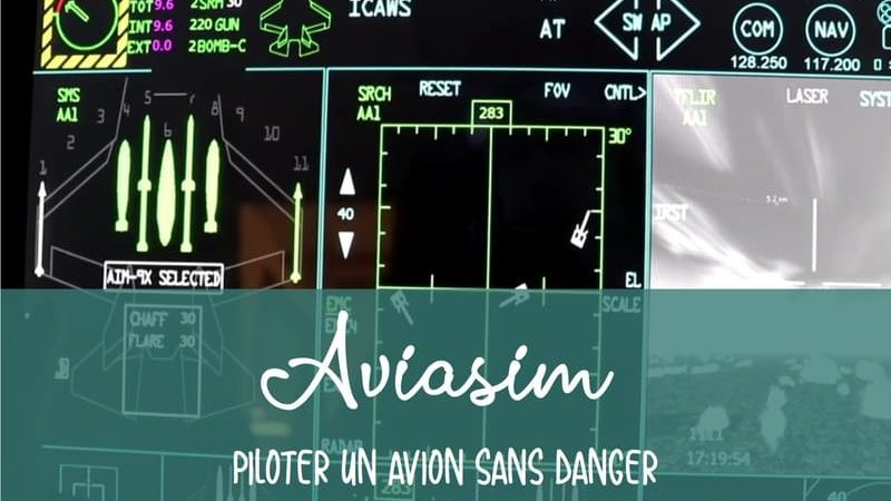 Simulation pilotage avion