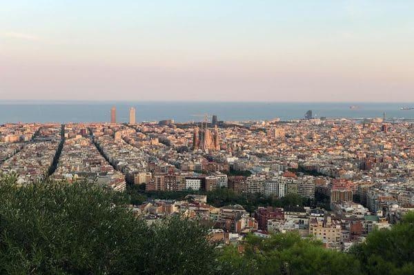 meilleure vue de Barcelone