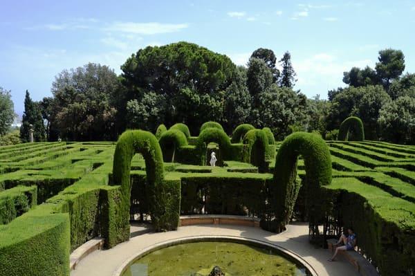 Labyrinthe à Barcelone