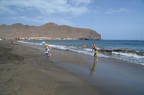 plage sable noir Fuerteventura