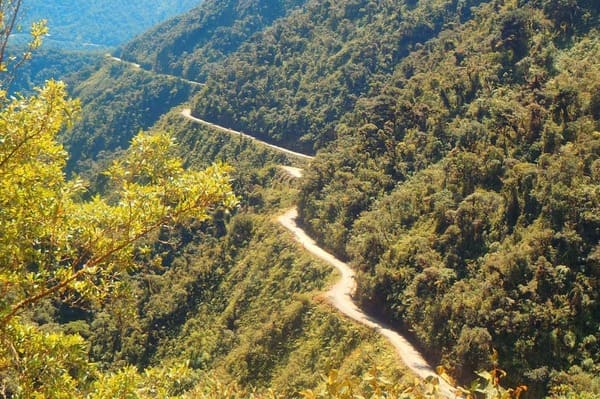 Route de la mort en Colombie