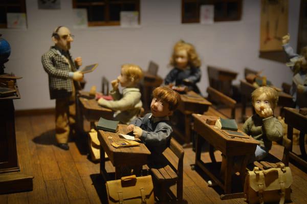 salle de classe miniature