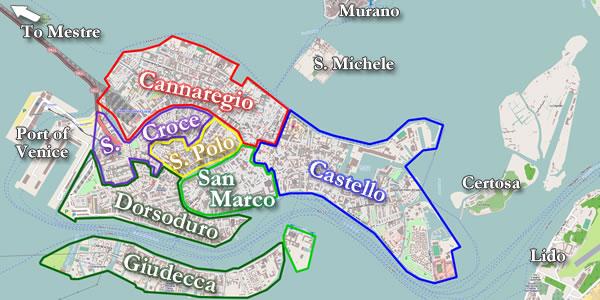 Ou Se Loger A Venise Et Quel Quartier Choisir Pour Visiter Facilement