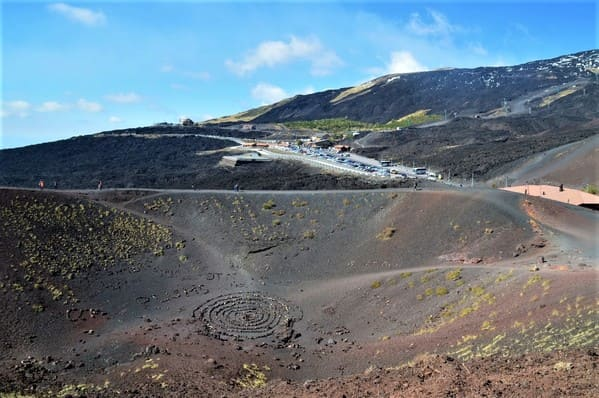 Cratère Silvestri de l'Etna