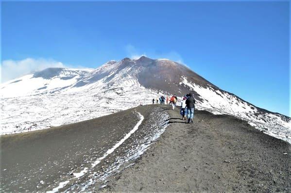 Randonnée au sommet de l'Etna