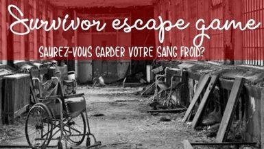 Survivor Vancia Escape game