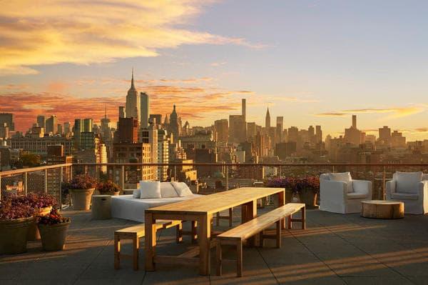 Roof top Hotel Public