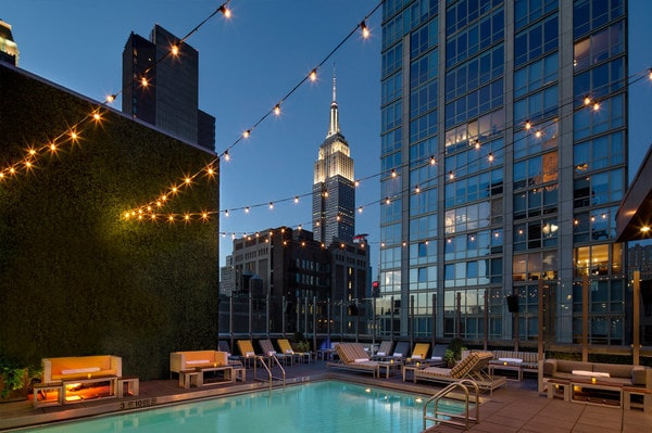 Gansevoort Hotel à New York