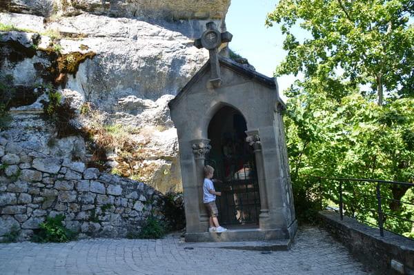 Chemin qui mène à Rocamadour