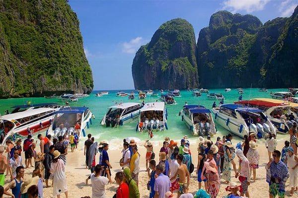 Tourisme de masse en Thailande