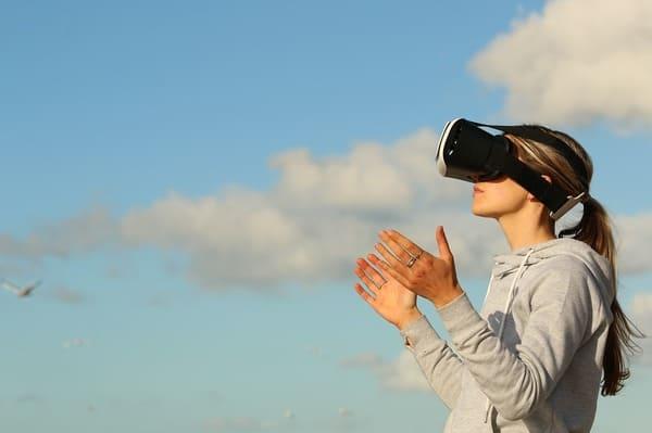 Lunette virtuelle pour voyager