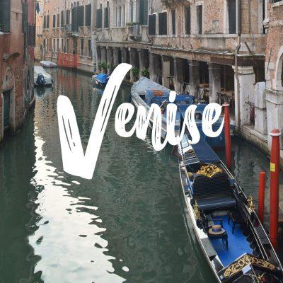 Budget de voyage à Venise