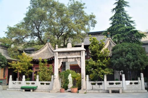 Mosquée de Xi'an et son jardin