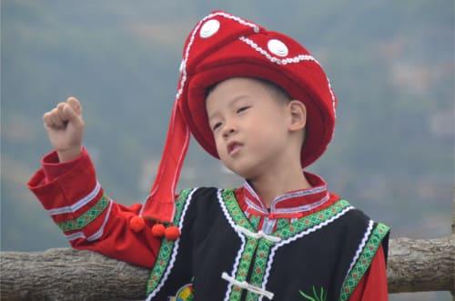 Enfant en Chine
