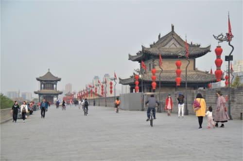 Remparts de Xi'an autour de la ville