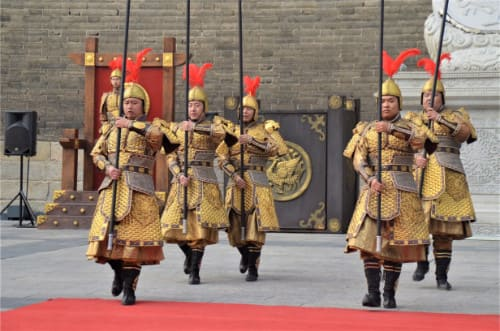 Relève de la garde spectacle Xi'an
