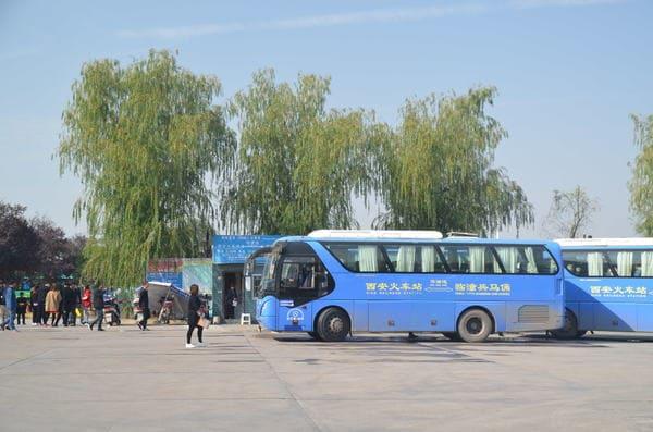 Bus armée terre cuite Xi'an