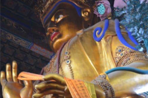 Bouddha temple du Lama