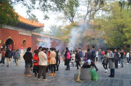 Temple du Lama pour prier