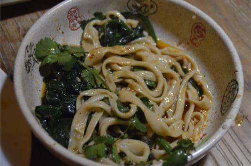 Cuisiner des nouilles chinoises