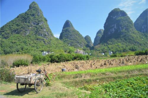 Les collines de Yangshuo