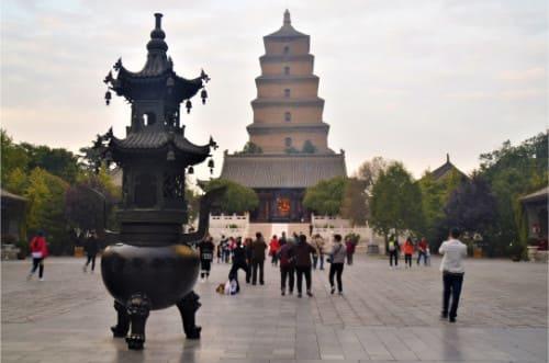 Visite de la pagode