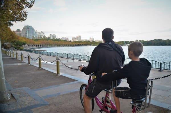 Vélo à Shanghai