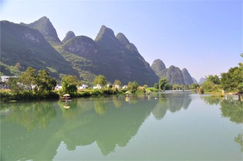 La rivière Li de Yangshuo
