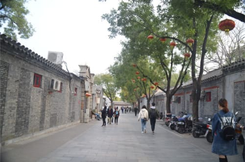 hutongs de Pekin