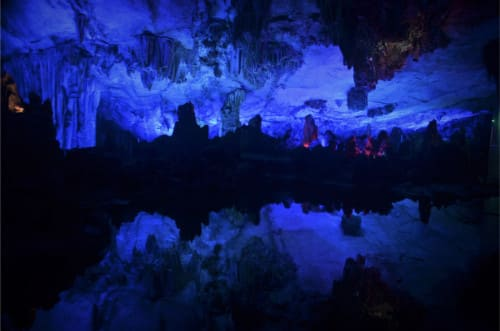 Grotte chinoise Guilin