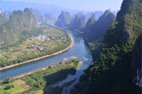 Visite en Chine