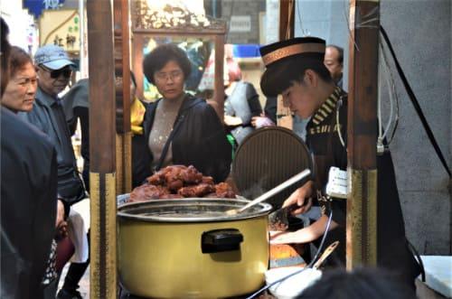 cuisine dans la rue de Xi'an
