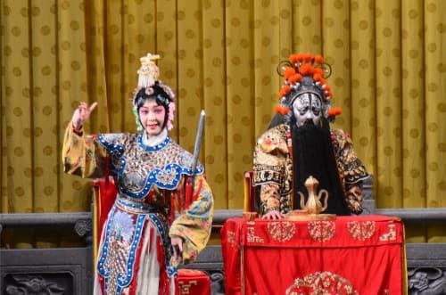 Spectacle opéra de Beijing