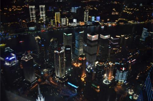 Shanghai Tower observatoire