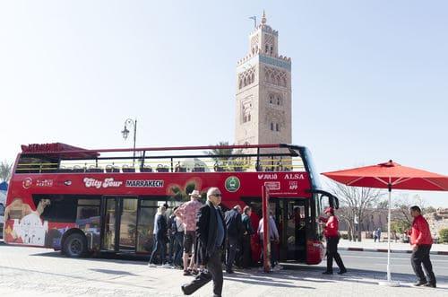 Bus touristique Marrakech
