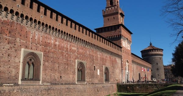Chateau du parc Sampione Milan