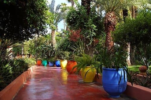 jardins de Majorelle de Marrakech