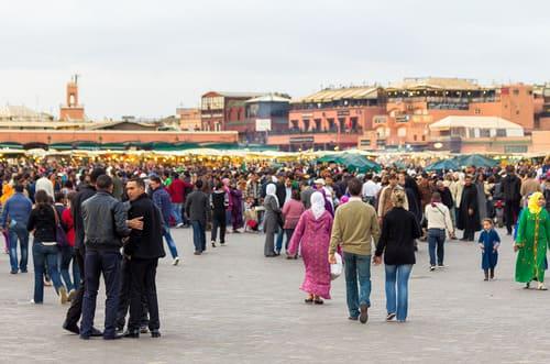 vendeurs place jemaa el fna