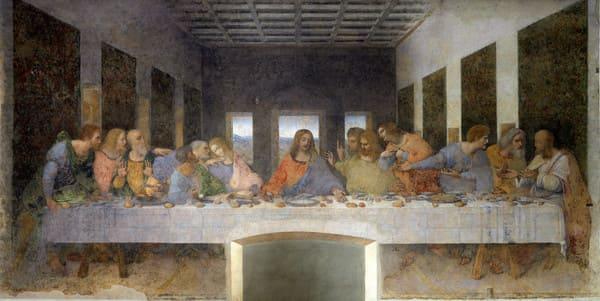La Cène Leonard de Vinci