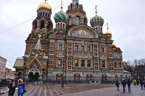 Cathédrale en Russie